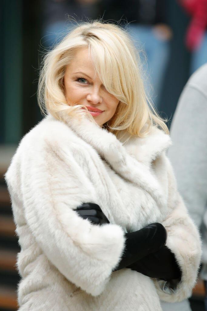 Famosas y famosos que son Cáncer: Pamela Anderson