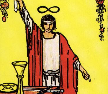Significado de las cartas del Tarot: El mago