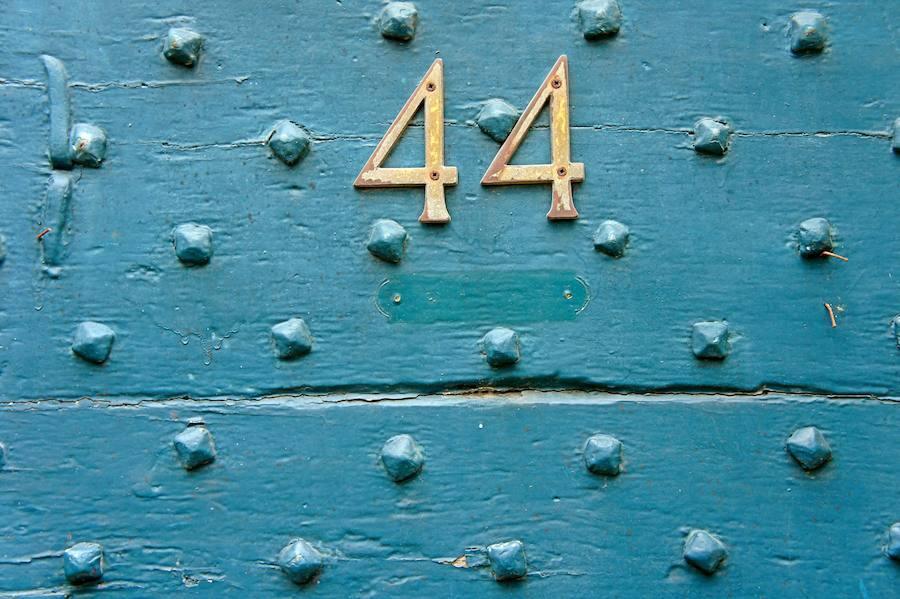 Numerología: el 44, número maestro