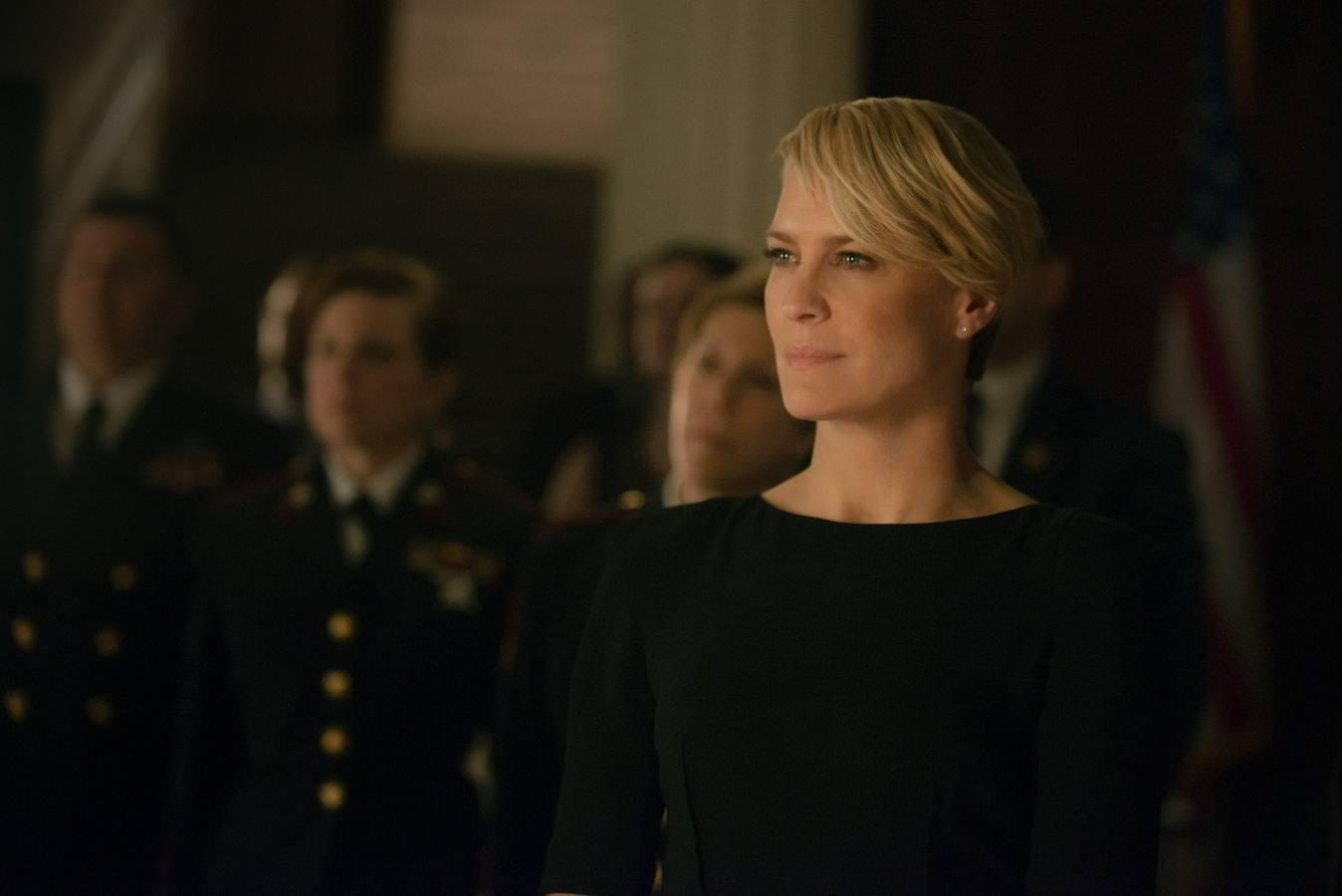 El turno de Claire Underwood... y de Robin Wright