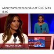Encuentra las diferencias entre el discurso de Melania Trump y el de Michelle Obama