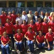 Multitudinaria despedida al Equipo Paralímpico español