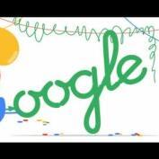 Google celebra su 18 cumpleaños con un divertido doodle