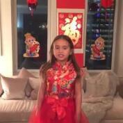 Arabella, la nieta de Donald Trump, arrasa hablando en chino en Instagram