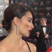 """Penélope Cruz """"encantada"""" de estar nominada al Goya"""