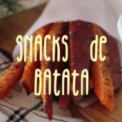 Snacks de batata