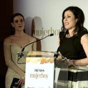 Virginia Martínez, ganadora en los Premios Mujerhoy