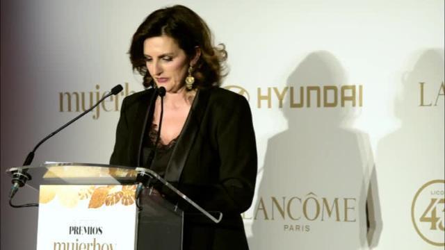 Laura Múgica, Directora General de Taller de Editores, en los Premios mujerhoy