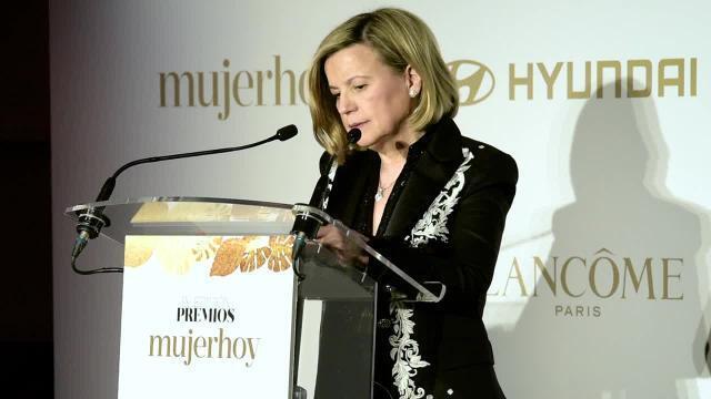 Charo Carrera, Directora de mujerhoy, en los Premios mujerhoy