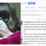 Natalia Ferviú lanza un claro mensaje tras abandonar 'Cámbiame'