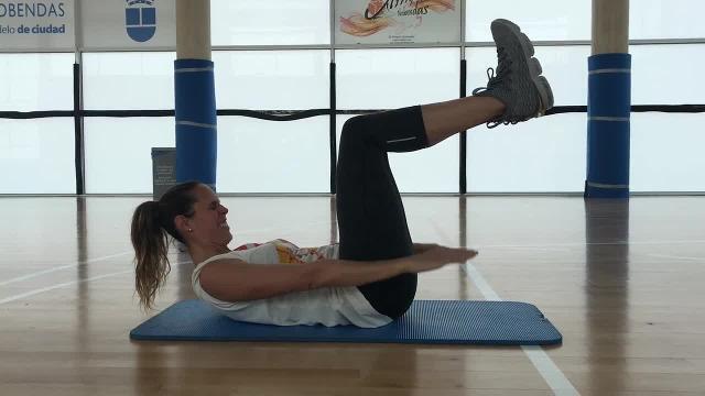Rutina de ejercicios en casa, por Amaya Valdemoro II
