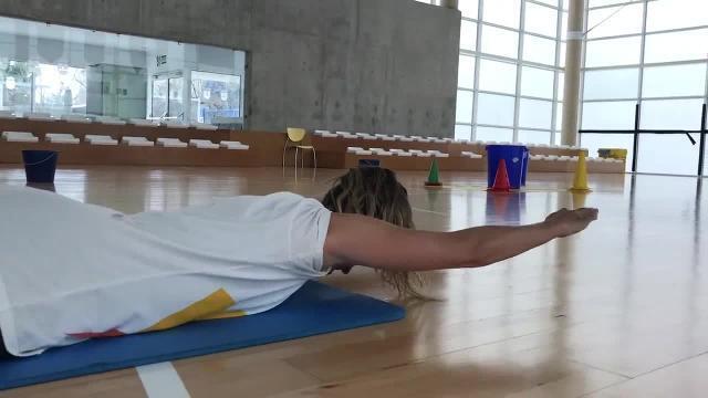 Rutina de ejercicios en casa, por Amaya Valdemoro IV