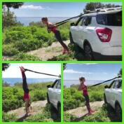 Cómo practicar TRX con el coche