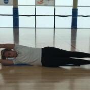Vientre plano: ejercicios de abdominales 5, con Amaya Valdemoro