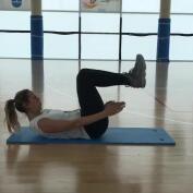 Vientre plano: ejercicios de abdominales 4, con Amaya Valdemoro