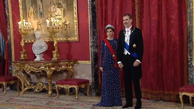 Doña Letizia luce por primera vez la que fuera la tiara favorita de la reina emérita Doña Sofía