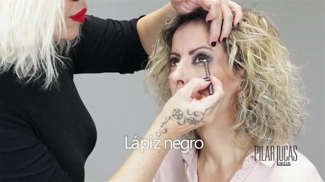 Maquillaje de noche para pieles maduras by Pilar Lucas