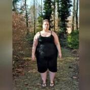 """Whitney Thore, una """"Gran-diosa"""" de 172 kilos"""