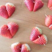 Receta de bombones de fresa