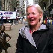 La niña de bronce que desafía a Wall Street
