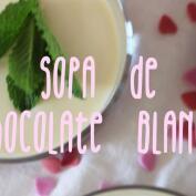 Recetas: Sopa de chocolate blanco