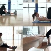 Los ejercicios fitness caseros de Amaya Valdemoro
