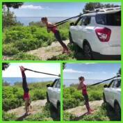 Patry Montero: ejercicios con cuerda