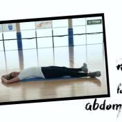 Rutina de abdominales por Amaya Valdemoro
