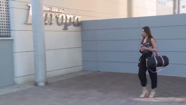 Yana Olina ya entra en casa de David Bustamante