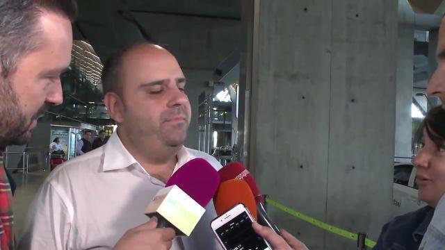 Julio Ruz regresa a Madrid en medio de la polémica por su presunta infidelidad