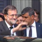 Mariano Rajoy abandona el Congreso entre aplausos