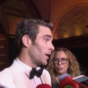 Jon Kortajarena disfruta de sus inicios como actor