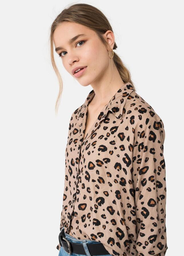Blusa con estampado de leopardo de Brownie 49,90 €