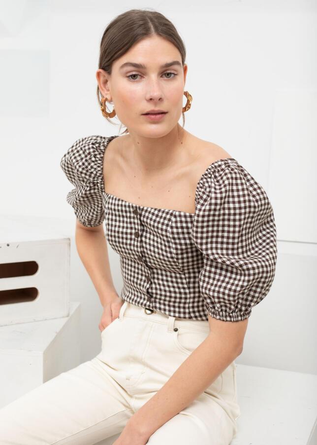 Blusa con estampado vichy de & Other Stories €69