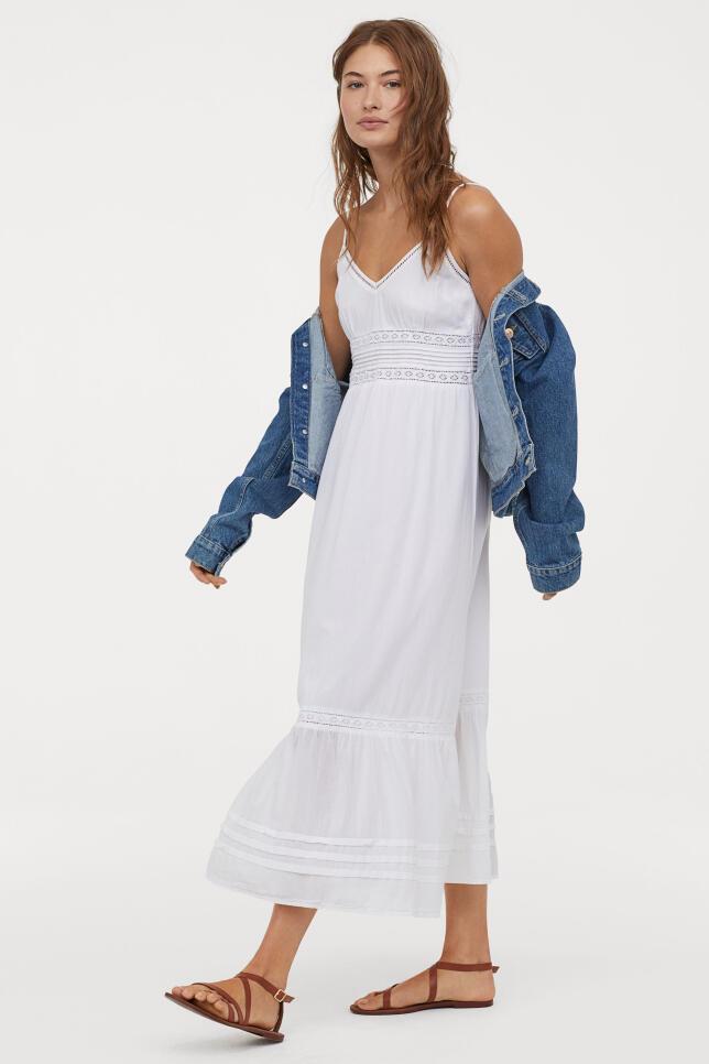 Vestido de encaje de H&M 34,99 €