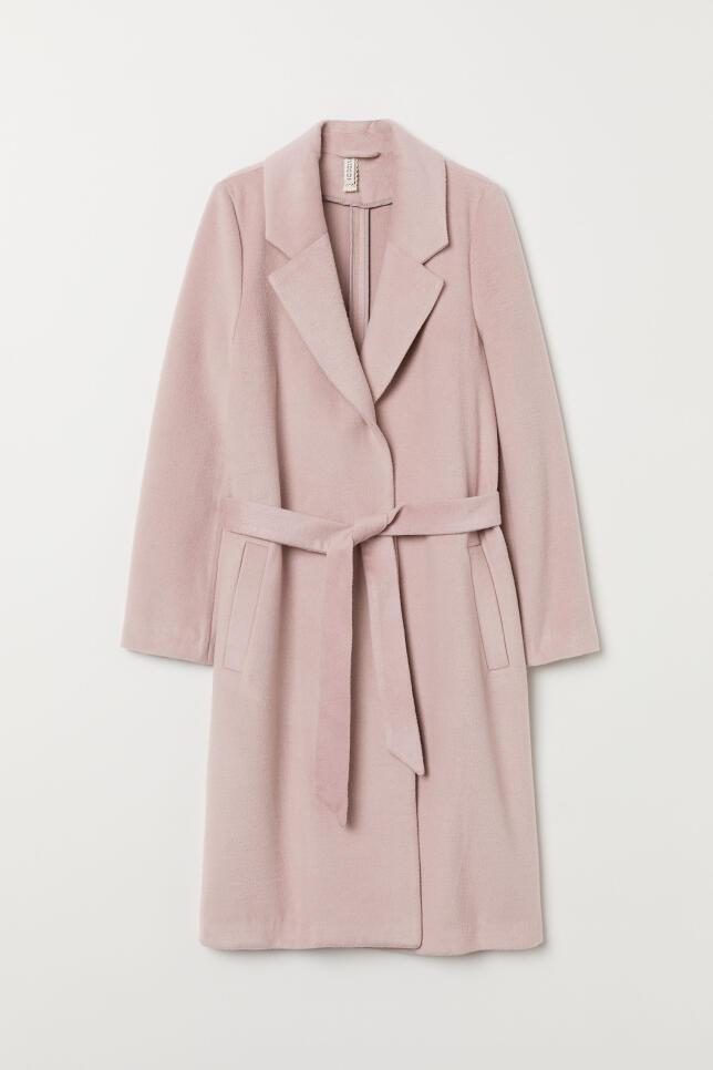 Abrigo con cinturón de H&M 59,99 €