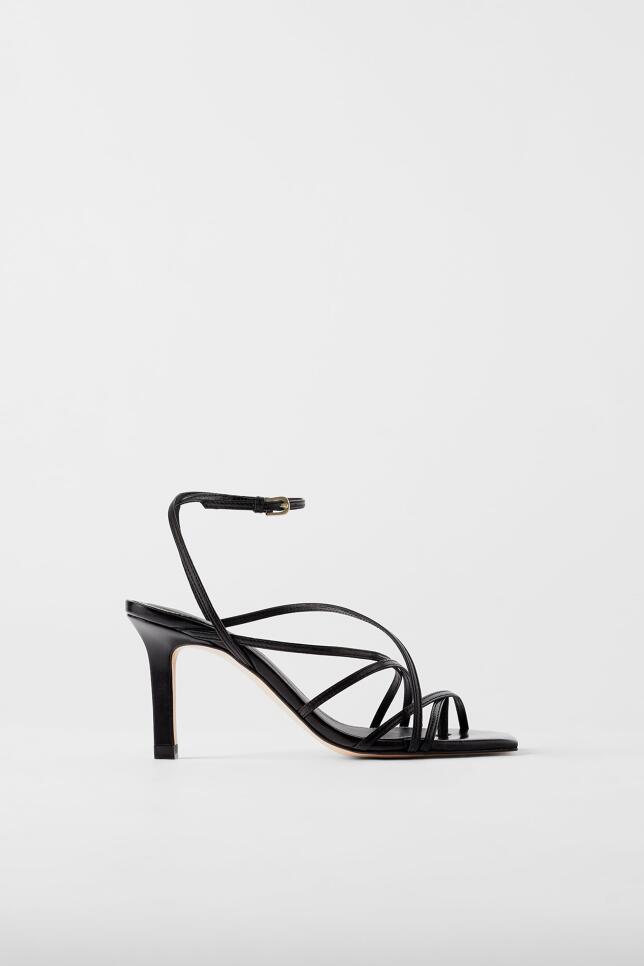 Sandalias con tiras de Zara 59,95 EUR