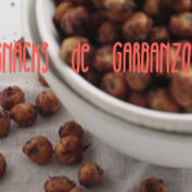 Receta: snack saludable de garbanzos