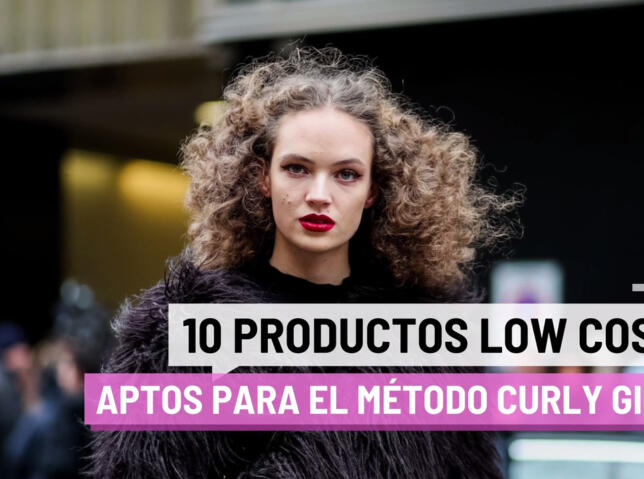 Diez productos low cost aptos para el método Curly Girl