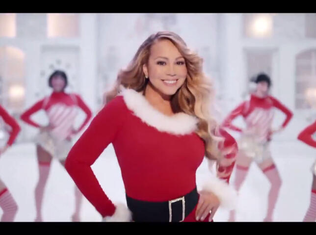 Mariah Carey estrena nuevo videoclip de 'All I want for Christmas is you'
