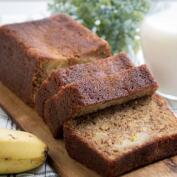 Recetas dulces fáciles para el desayuno y la merienda: bizcocho de plátano