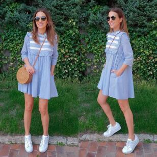 Copia los looks de primavera con zapatillas de Paula Echevarría