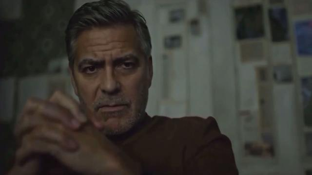 George Clooney sufre un accidente de moto