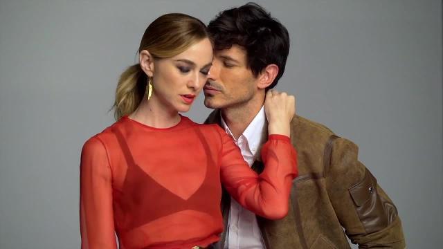 Marta Hazas y Andrés Velencoso para Mujerhoy