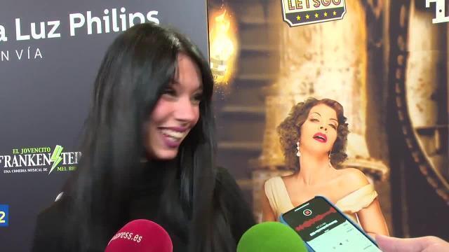 Alejandra Rubio desconecta en un musical
