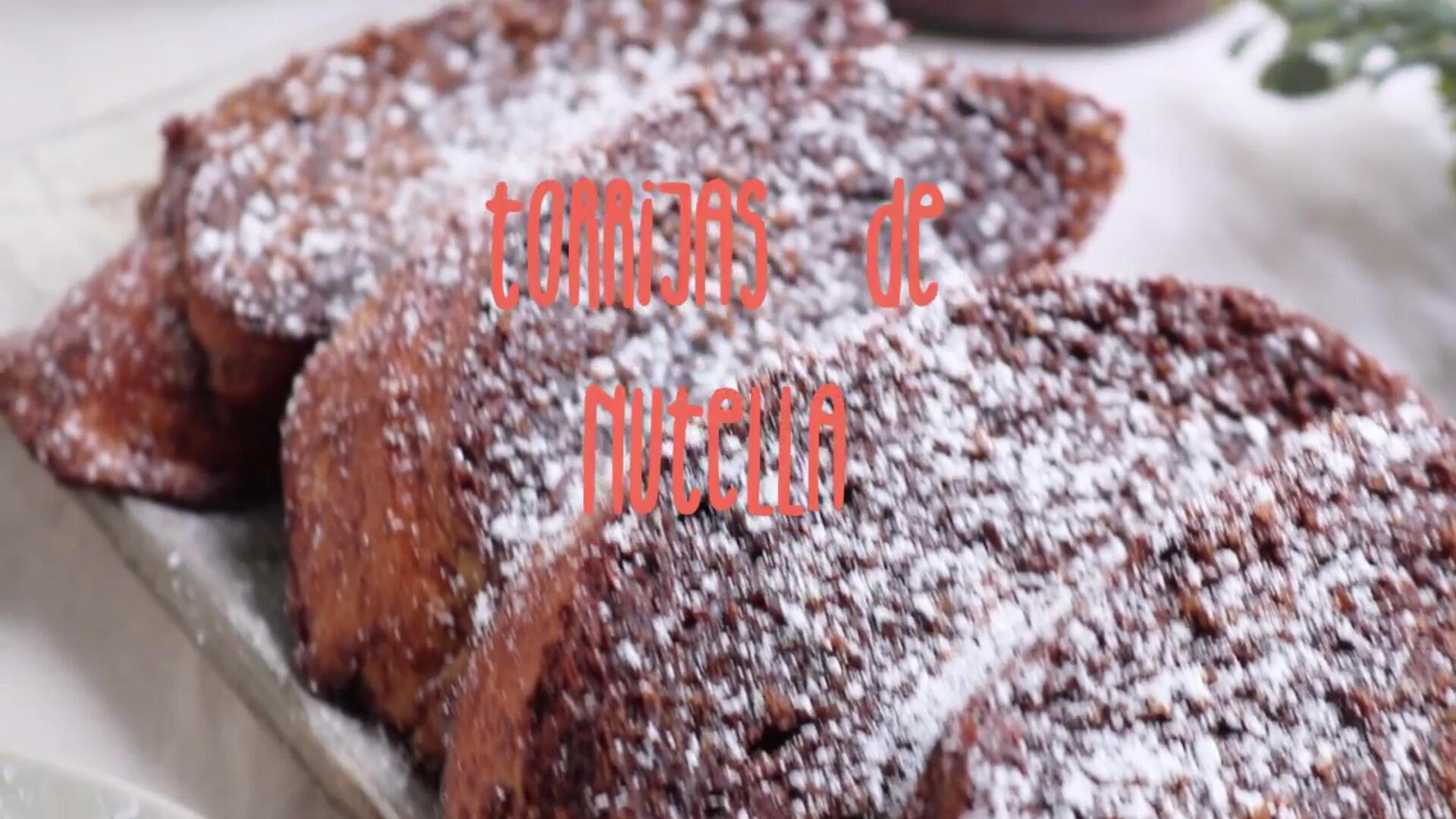 Receta: torrijas de Nutella
