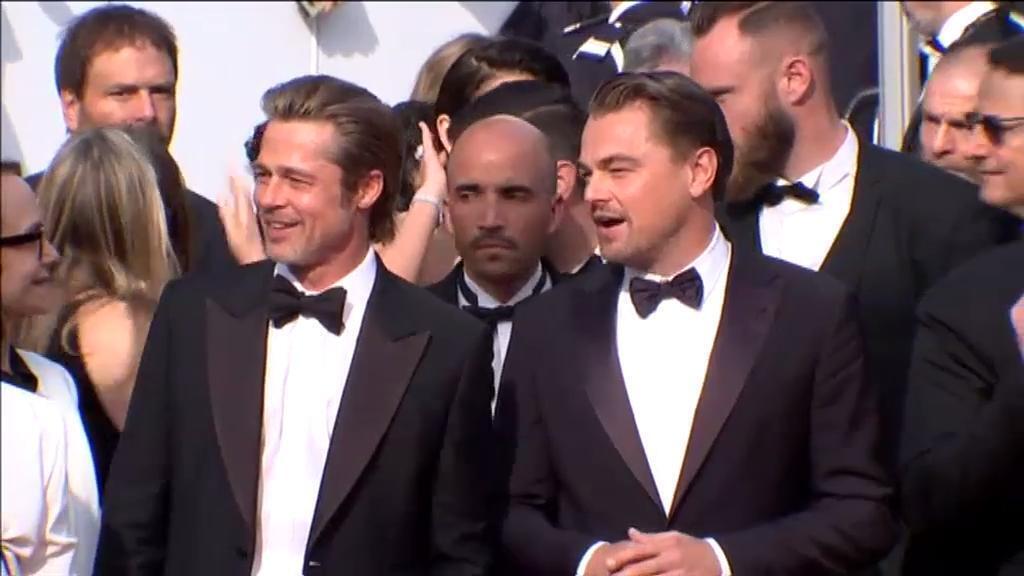 Quentin Tarantino y su equipo revolucionan el festival de Cannes