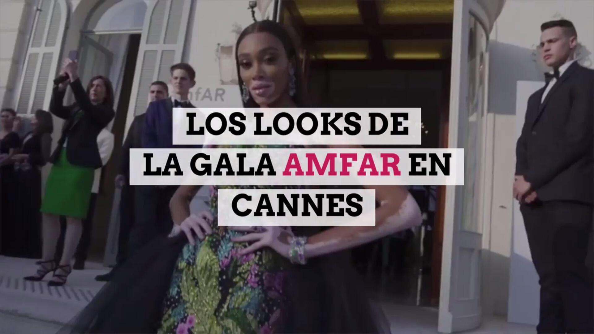 Los mejores looks de la Gala amfAR en Cannes
