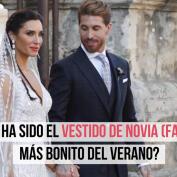 Los vestidos de novia de las famosas en el verano 2019
