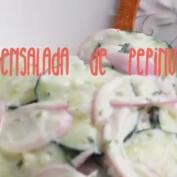 Receta: ensalada de pepino